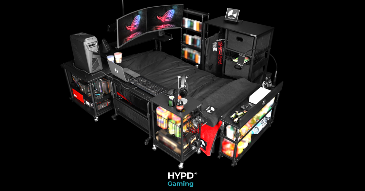 Ultimate Gaming Bed